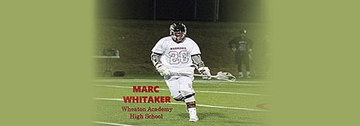 Chiropractic Elmhurst IL Lacrosse Player Marc Whitaker