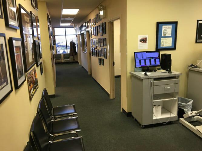 Chiropractic Bartlett IL Hallway