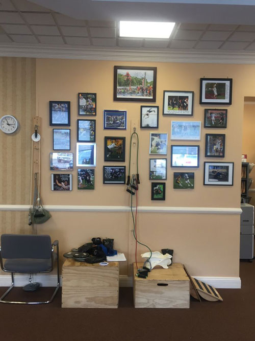 Chiropractic St. Charles IL Sports Picture Wall