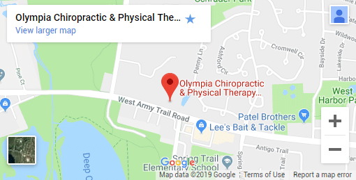 Bartlett IL Chiropractic Map