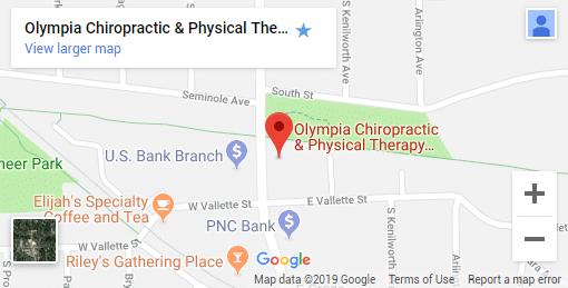 Elmhurst IL Chiropractic Map