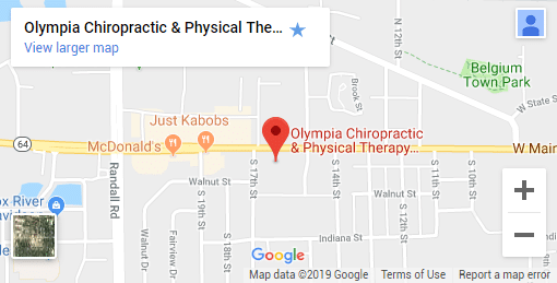 St. Charles IL Chiropractic Map
